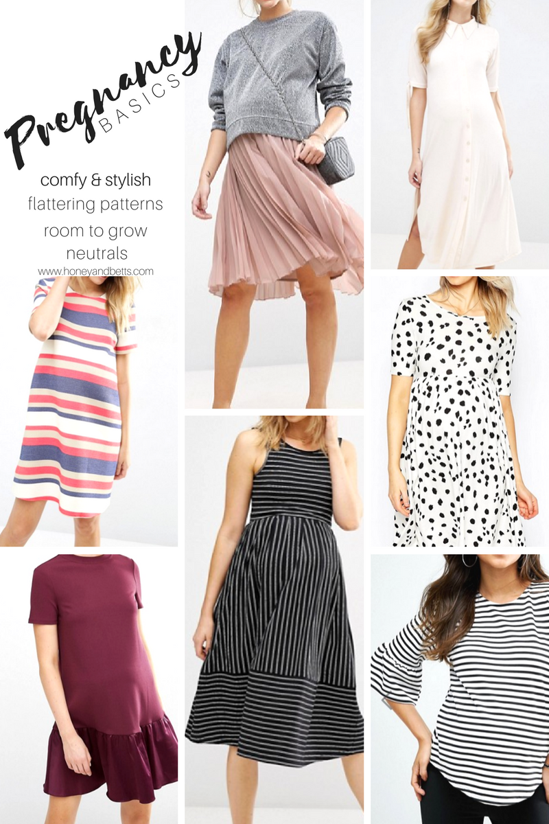 Basic Maternity Tees and Tanks Once you've found the perfect maternity tee, there's no limit to what you can achieve! We've done the homework for you, and here's the short list of the best maternity tees and maternity tank tops around.