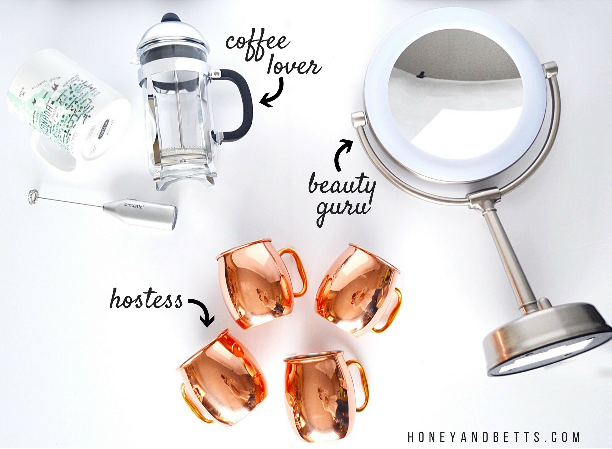 Gifts For Her Coffee Lover Beauty Guru Amp Hostess